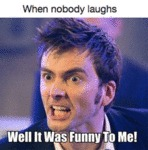 When Nobody Laughs