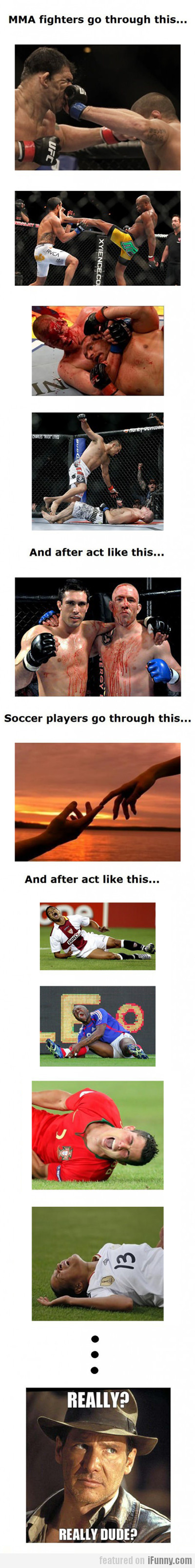 mma fighters vs. soccer players