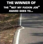 Not My Fucking Job Award