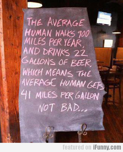 The Average Human Walks 900 Miles Per Year...