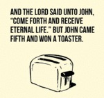 And The Lord Said Unto John...