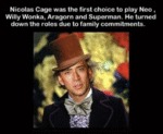 Nicolas Cage Was The First Choice To Play...