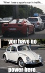 When I See A Sports Car In Traffic...
