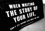 When Writing The Story Of Your Life...