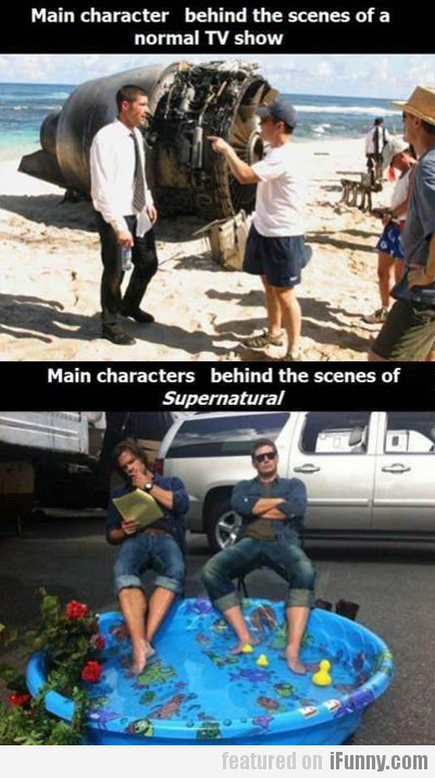 Main Characters Behind The Scenes...