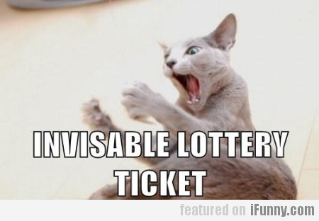 Invisable Lottery Ticket