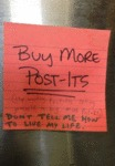 Buy More Post-its