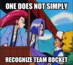 One Does Not Simply Recognize Team Rocket