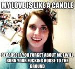 My Love Is Like A Candle...