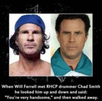 When Will Ferrell Met Rhcp Drummer Chad Smith...
