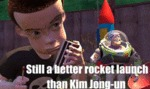 Still A Better Rocket Launch Than Kim Jong-un