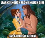 Learns English From English Girl, Has American...