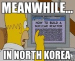Meanwhile... In North Korea