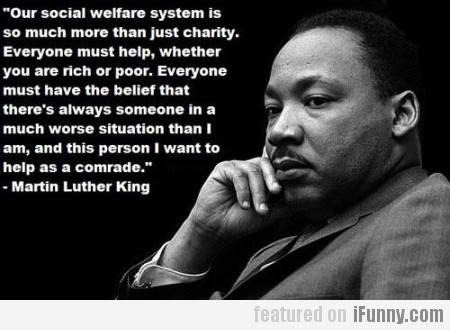 Our social welfare system