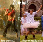 Zumba! How We Feel, How We Really Look