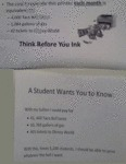 Think Before You Ink, A Student Wants To Know