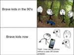 Brave Kids In The 90's..