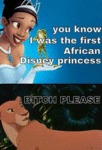 You Know I Was The First African Disney...
