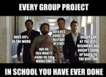 Every Group Project In School You Have Ever...
