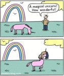 A Magical Unicorn! Wonderful!