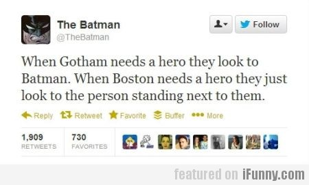 When Gotham Needs A Hero, They Look To Batman