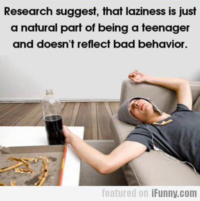 research suggests that laziness is just a...
