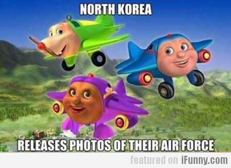 North Korea, Releases Photos Of Their Air Force