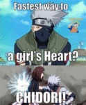 Fastest Way To A Girls Heart? Chidori