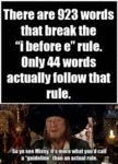 There Are 923 Words That Break The I Before E...