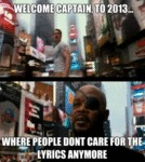 Welcome Captain, To 2013...