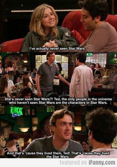 I've Actually Never Seen Star Wars...