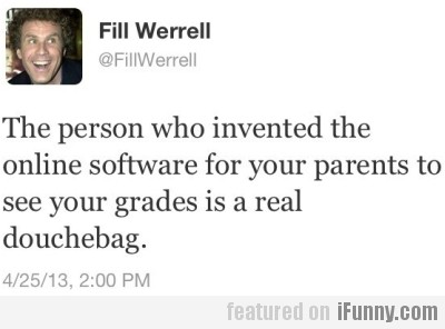 The person who invented the online software for..