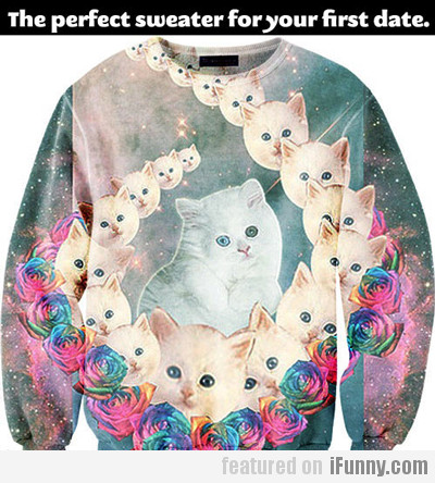 The Perfect Sweater For Your First Date...