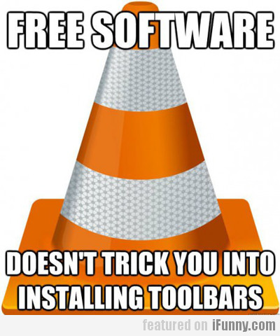 Free Software, Doesn't Trick You Into...