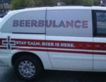 Beerbulance: Keep Calm, Beer Is Here
