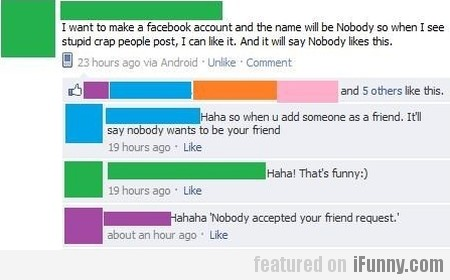 I want to make a Facebook account and the name...