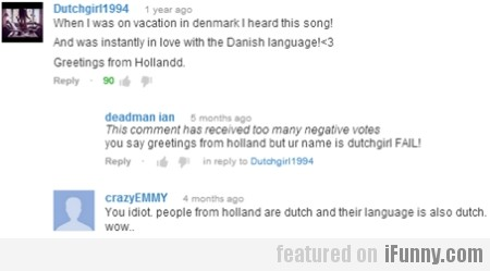 When I Was On Vacation In Denmark I've...