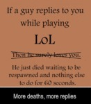 If A Guy Responds To You While Playing...
