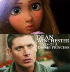 Dean Winchester Eyes Of A Disney Princess