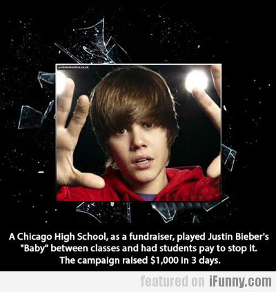 A Chicago High School, As A Fundraiser, Played...