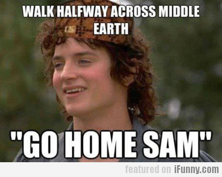 Walk Halfway Across Middle Earth...