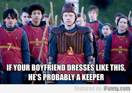 if your boyfriend dresses like this, he's...