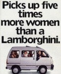Picks Up Five Times More Women Than A Lamborghini.