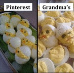 Pinterest Vs. Grandma's