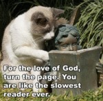 For The Love Of God, Turn The Page