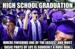 High School Graduation, Where Finishing One Of...