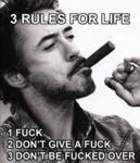 3 Rules For Life...