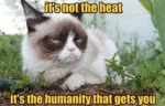 It's Not The Heat...