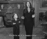 Black Is Such A Happy Color