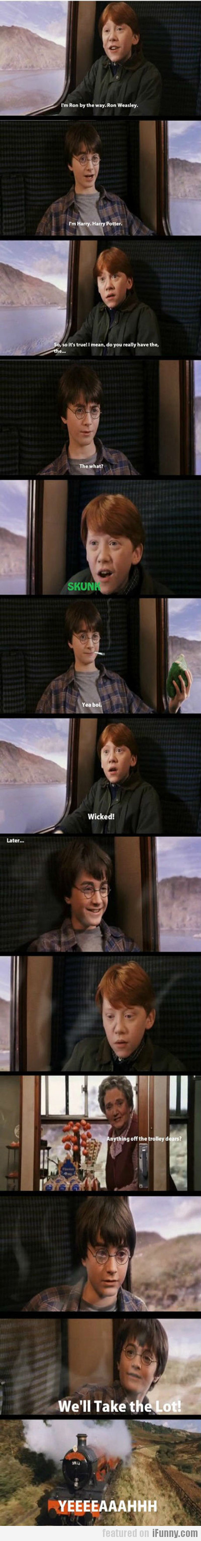 I'm Ron By The Way...